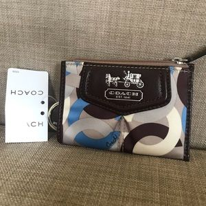 NWT Coach change purse